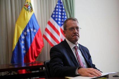James Story, embajador de EEUU para Venezuela (EFE/Cristian Hernández)