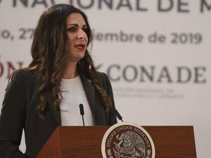 Ana Gabriela Guevara (Foto: Andrea Murcia/ Cuartoscuro)