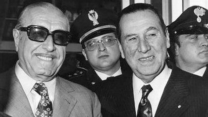 """""""Cámpora al gobierno, Perón al poder"""" fue el slogan de la Juventud Peronista para acompañar a la fórmula del FREJULI en la votación del 11 de marzo de 1973"""
