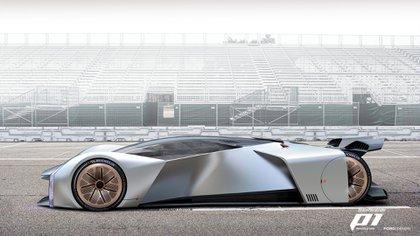 Uno de los diseños exclusivos de Ford en el mundo virtual (Ford)