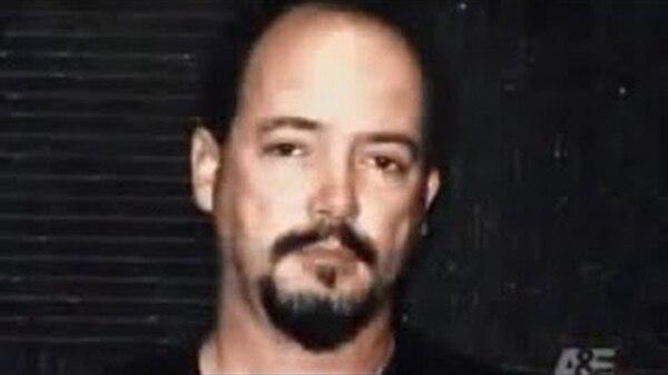 """Anthony Allen Shore, """"el asesino del torniquete"""", al ser arrestado"""