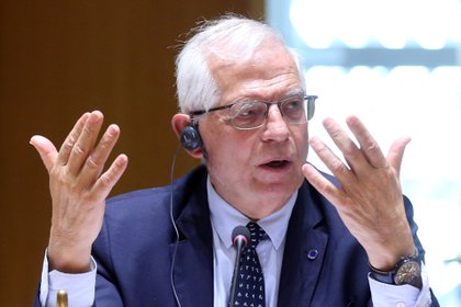 Josep Borrell, Alto rappresentante per la politica estera dell'Unione europea (François Walcharts / Paul via Reuters)