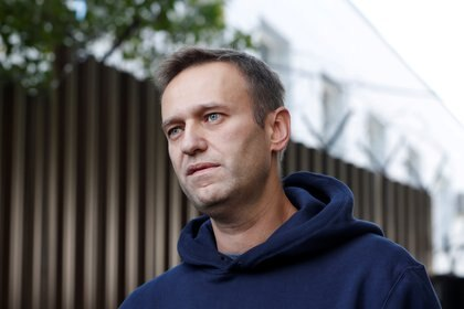 Navalny en una foto de 2019. (REUTERS/Evgenia Novozhenina/archivo)