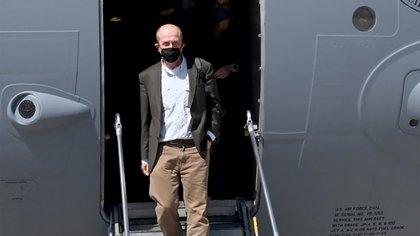Llegó a Israel el enviado de Estados Unidos para mediar en el conflicto