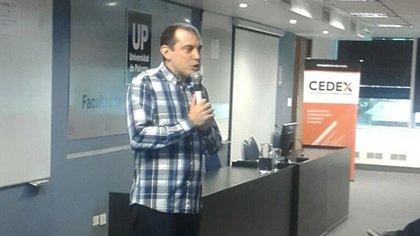 Andreas M. Antonopoulos, especialista en bitcoins y seguridad informática (Cortesía UP).