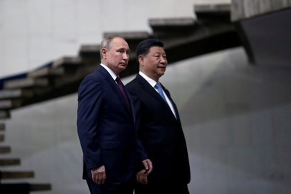 Vladimir Putin y Xi Jinping (Reuters)