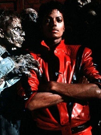 "Michael Jackson en ""Thriller"""