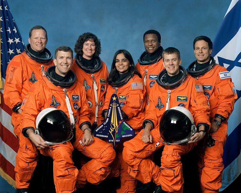 01/02/2021 La tripulación de la misión STS-107. De izquierda a derecha: Brown, Husband, Clark, Chawla, Anderson, McCool y Ramon POLITICA INVESTIGACIÓN Y TECNOLOGÍA NASA