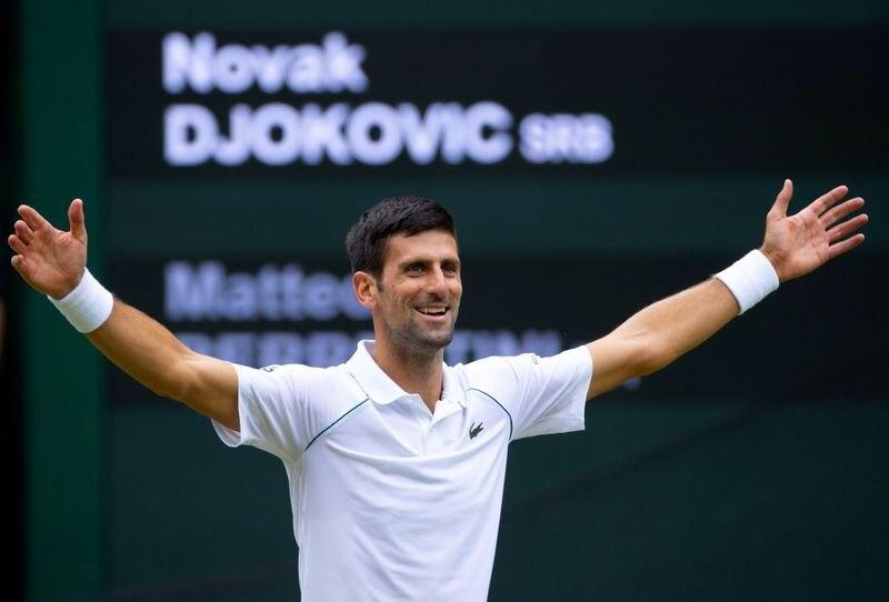 Novak Djokovic quiere alzarse con el Grand Slam de oro (Reuters)