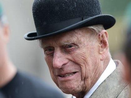 El príncipe Felipe, esposo de la reina británica Isabel II, en el Palacio de Buckingham Palace, Londres, Gran Bretaña, 2 agosto 2017. REUTERS/Hannah McKay/