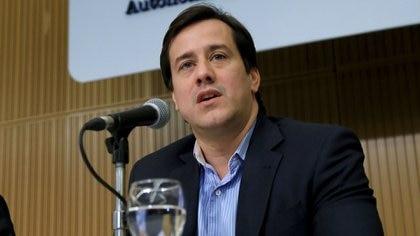 Mariano Recalde, presidente de la aérea de bandera durante el kirchnerismo