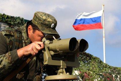 28/11/2018 Un militar ruso desplegado en Crimea POLITICA EUROPA EUROPA INTERNACIONAL RUSIA UCRANIA MINISTERIO DE DEFENSA DE RUSIA