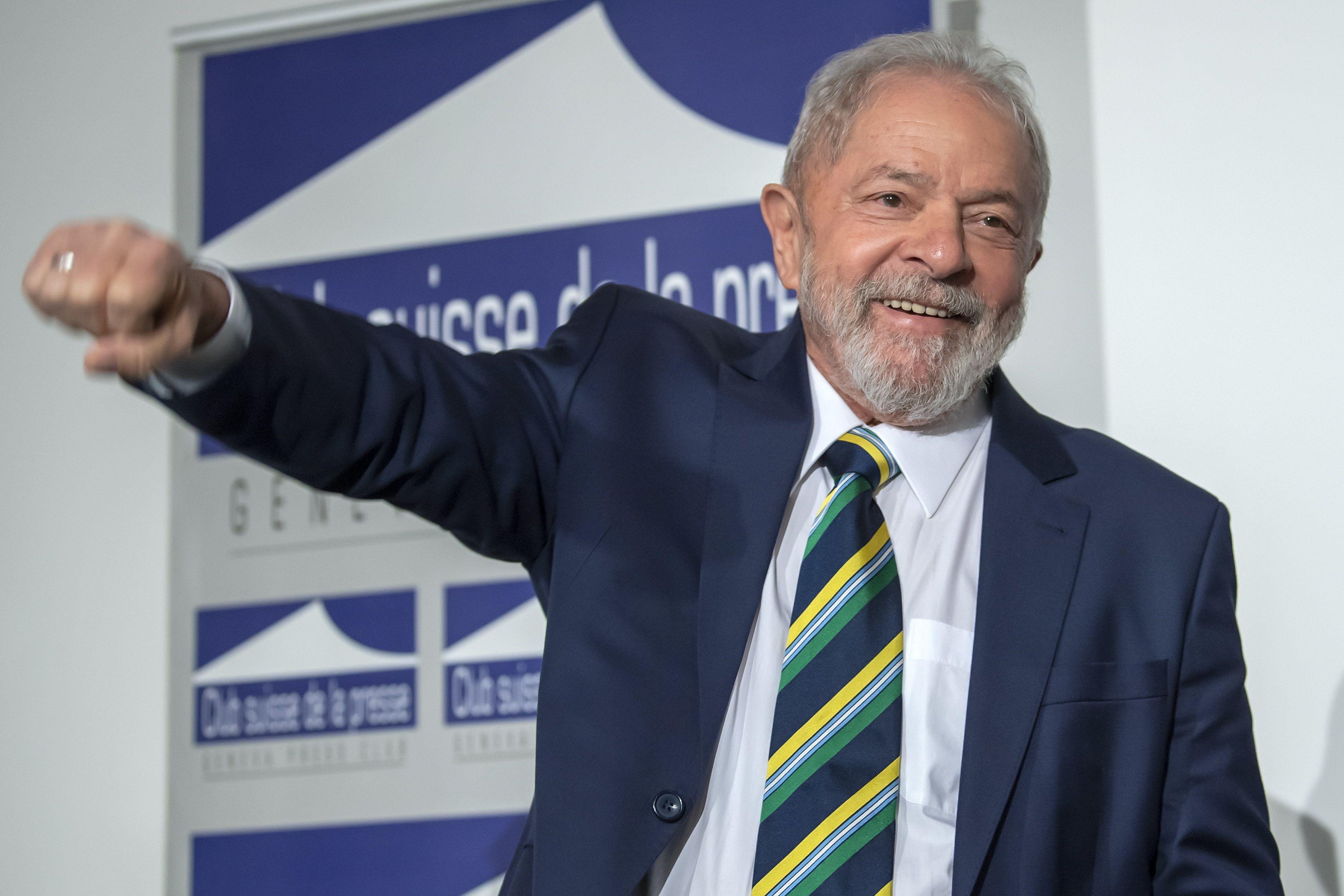 En la imagen, el expresidente brasileño Luiz Inácio Lula da Silva. EFE/Martial Trezzini/Archivo