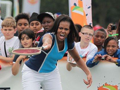Michelle Obama recibió clases de tenis de Gordon Ernst