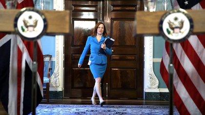 Jen Psaki, vocera de Joe Biden