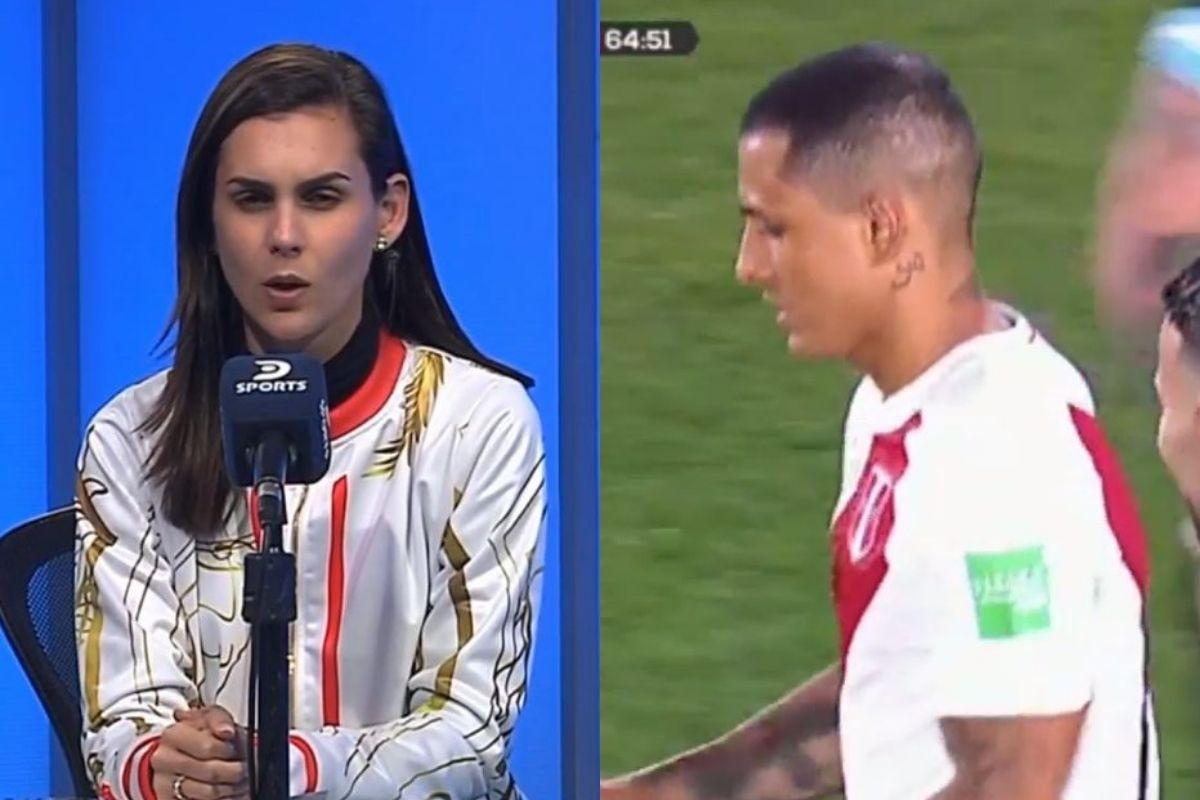 Talía Azcárate respaldó a Yoshimar Yotún por penal errado en Perú vs Argentina.
