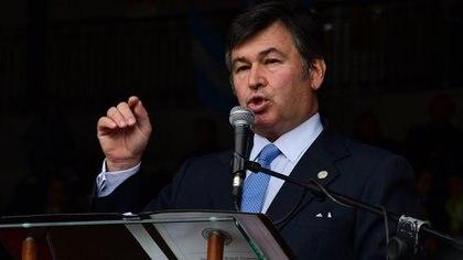 Daniel Pelegrina, presidente de la Sociedad Rural