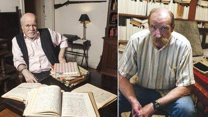 Castillo y Laiseca, dos célebres escritores y talleristas argentinos