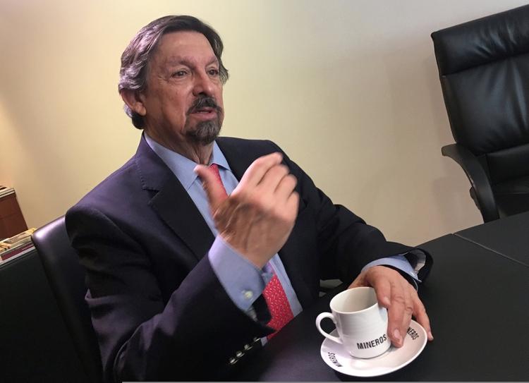 El presidente de la Comisión de Trabajo y Previsión Social, Napoleón Gómez Urrutia presentó la iniciativa. (Foto: Reuters)