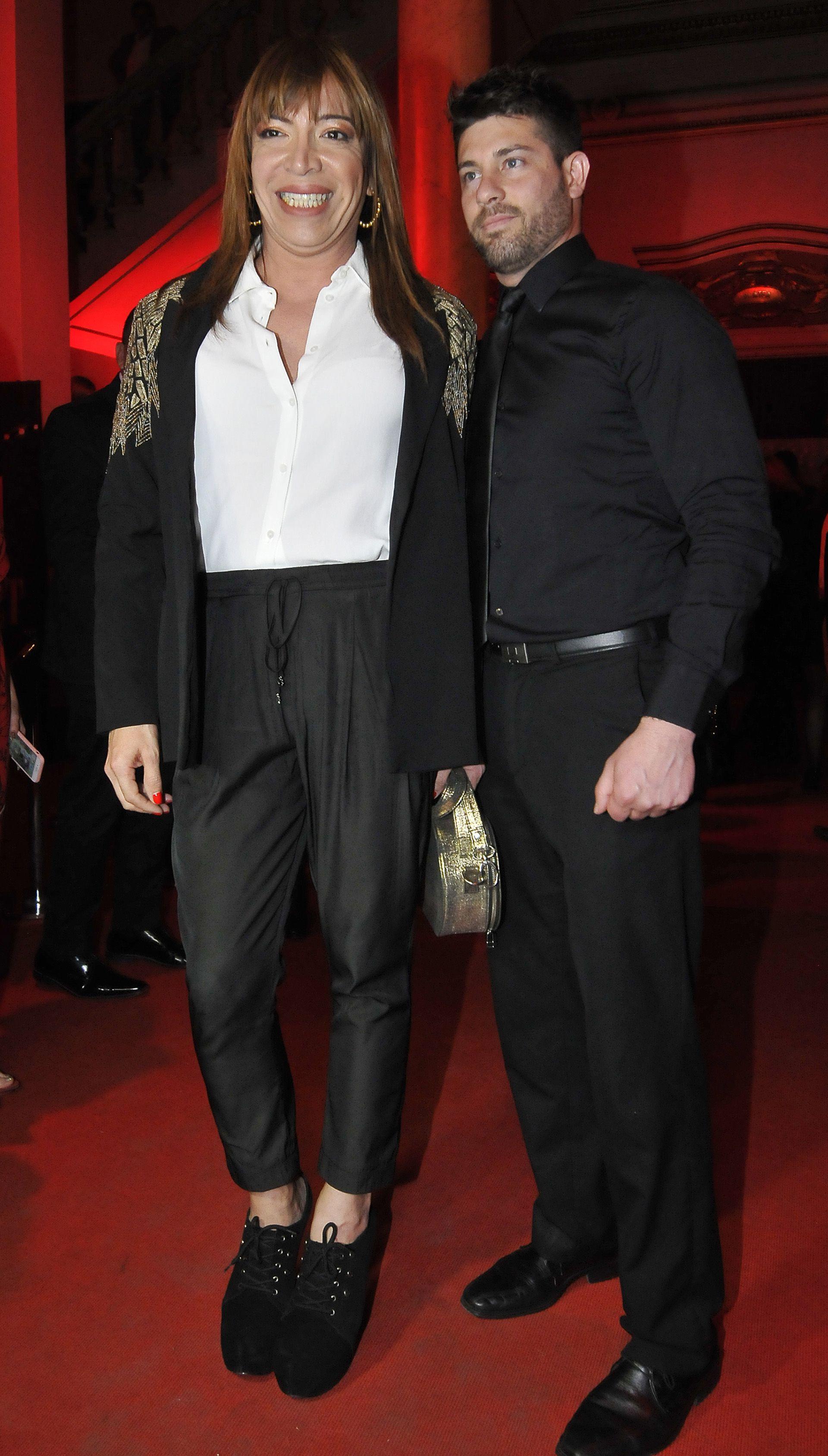Lizy Tagliani y Leo Alturria (Crédito: Teleshow)