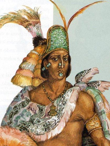 Moctezuma estaba lleno de temor pues esperaba el castigo de los dioses (Foto: Twitter@DonPorfirioDiaz)