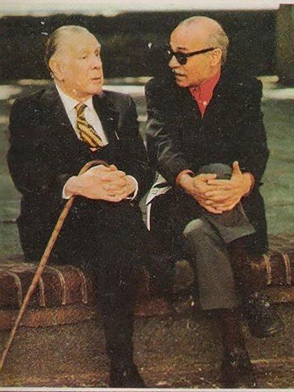 Ernesto Sabato y Jorge Luis Borges