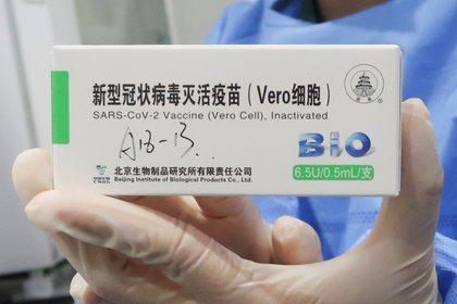 """La vacuna de Sinopharm fue desarrollada por el Instituto de Productos Biológicos de Pekín y se llama técnicamente """"BBIBP-CorV"""" (REUTERS)"""