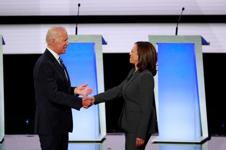 oe Biden y Kamala Harris. (REUTERS/Lucas Jackson)