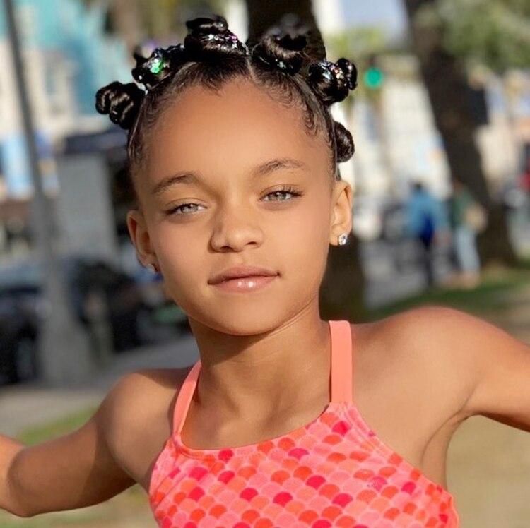 La madre de Ala'Skyy contó que su hija también participó en una sesión de fotos para Tyra Banks (Foto: Instagram @BriaKay)