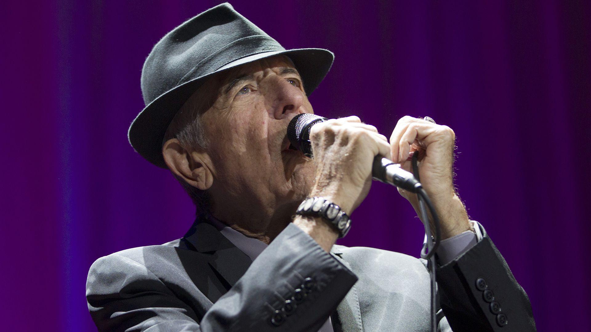 Leonard Cohen, Vector Arena, Auckland, New Zealand, 2013 (David Rowland/Shutterstock