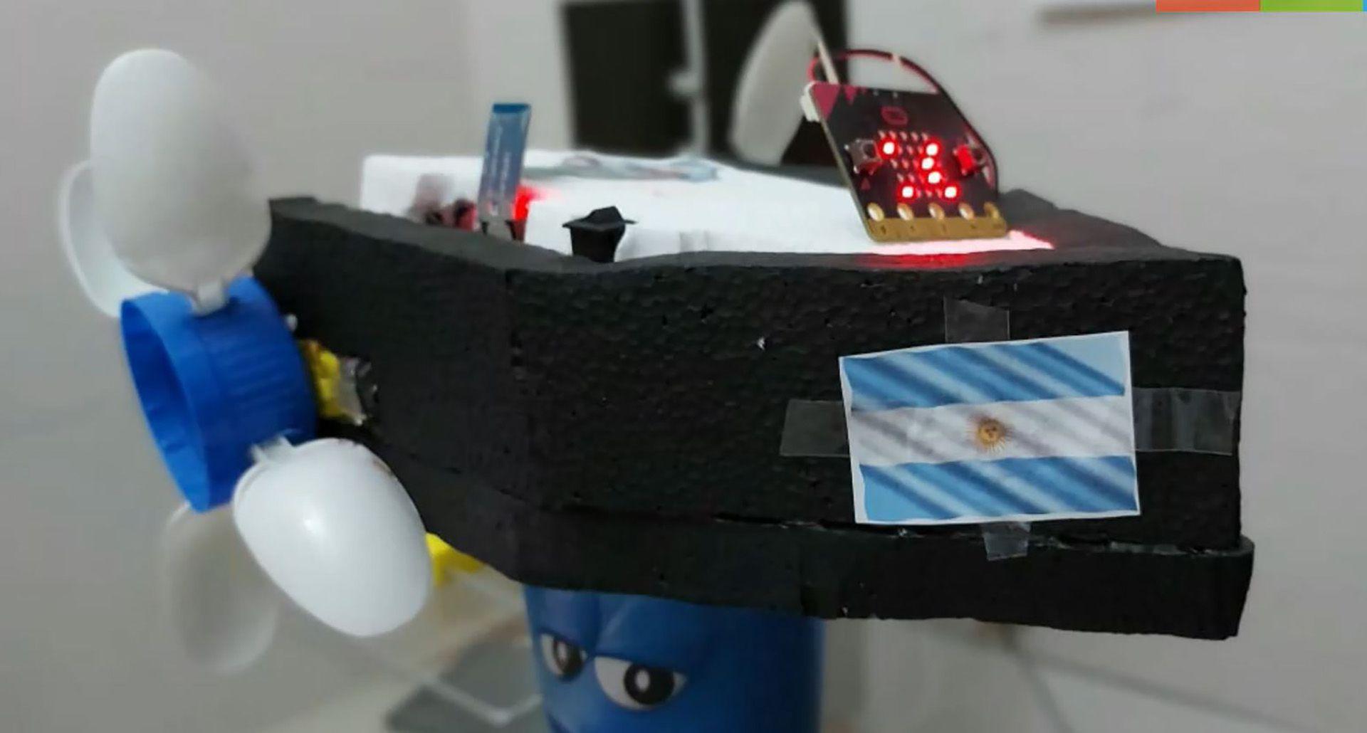 Estudiantes de Chascomús aplican robótica al tratamiento de la contaminación del agua