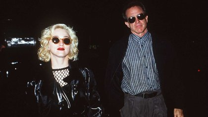 Madonna y Warren Beatty