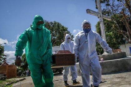 Según la municipalidad, Manaos registró el miércoles 198 entierros en un único día