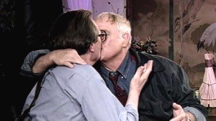 El famoso beso en la boca con Marlon Brando