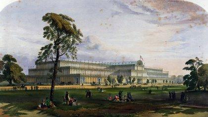 Crystal Palace, de Londres 1851. Tuvo su versión argentina para la Expo de París de 1898