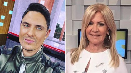 Lio Pecoraro y Susana Roccasalvo