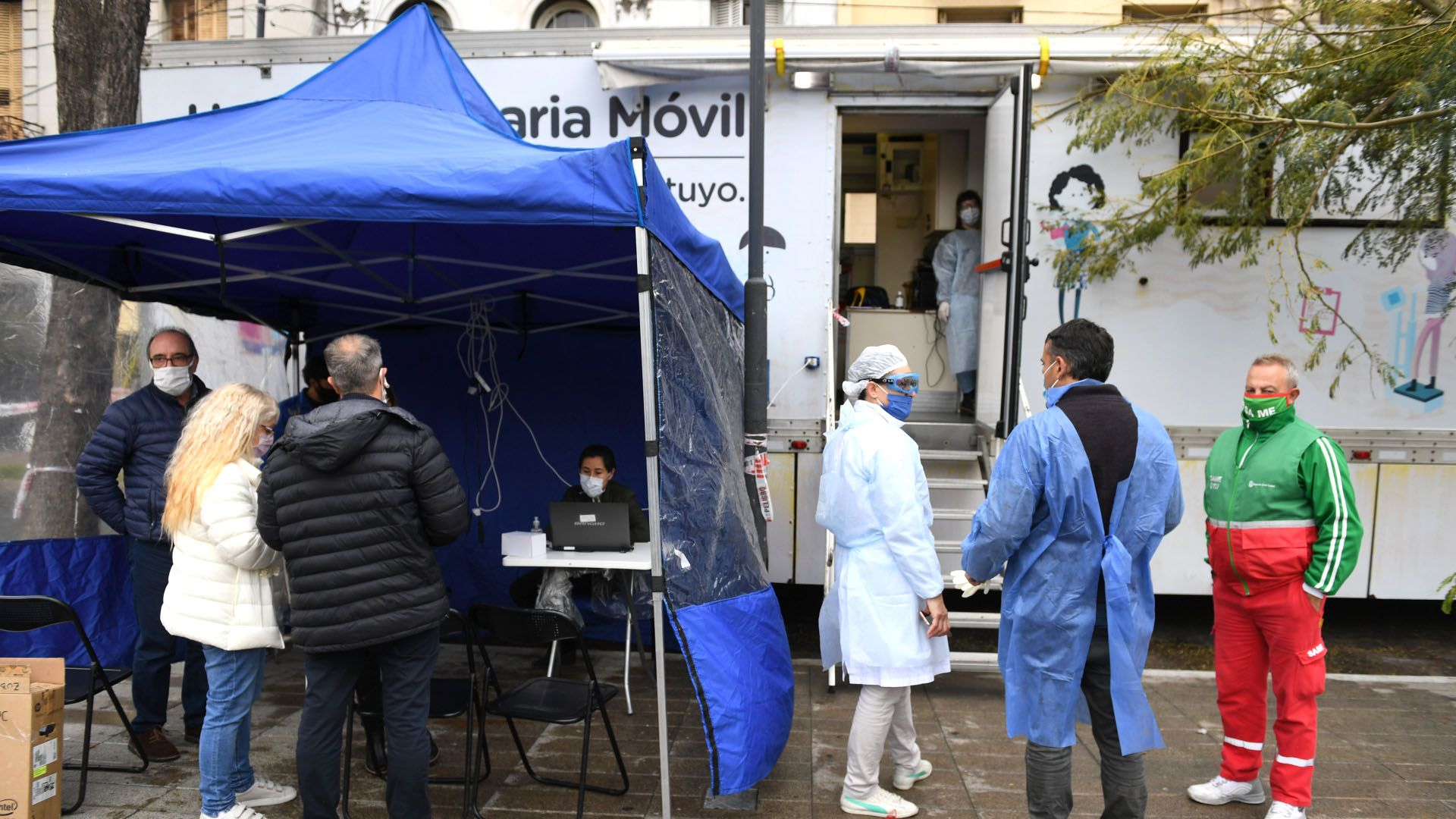 testeos covid ciudad balvanera cuarentena coronavirus