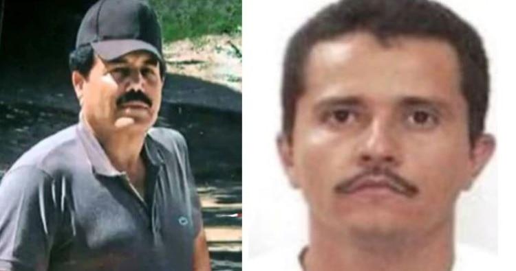 """Ismael """"El Mayo"""" Zambada y Nemesio """"El Mencho"""" Oseguera (Fotos: archivo Infobae)"""