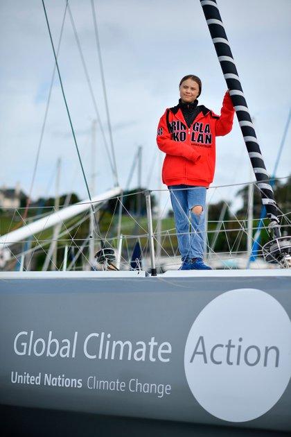 Greta Thunberg (AFP)