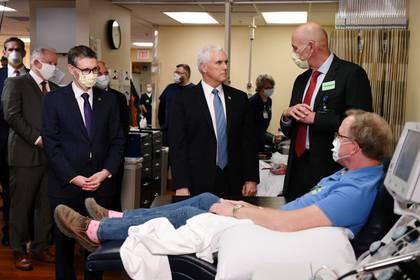 El vicepresidente de los Estados Unidos, Mike Pence. Foto: REUTERS/Nicholas Pfosi