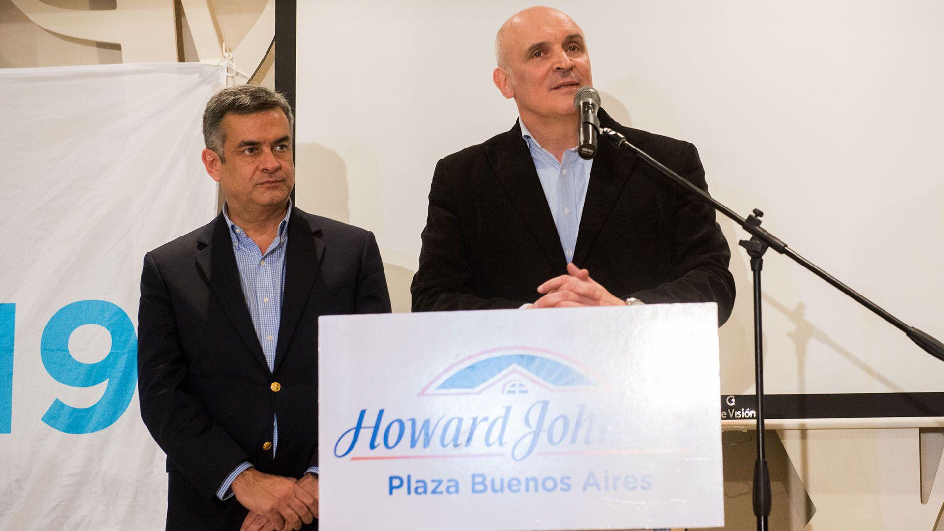 José Luis Espert y Luis Rosales (foto Télam)