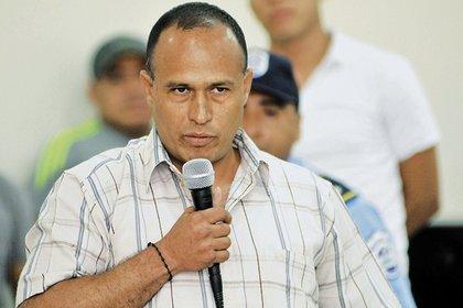 Capitan Zacarias Ignacio Salgado, jefe del grupo del operativo antidroga que culmino en una masacre contra inocentes el pasado 11 de julio. Managua 23 de julio de 2015. FOTO LA PRENSA/Lissa Villagra