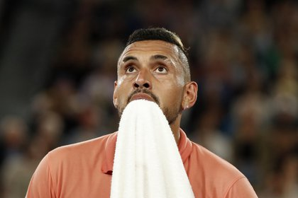 Nick Kyrgios fue uno de los que criticó a Djokovic tras la noticia de los casos de coronavirus en su torneo (Reuters)