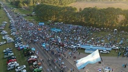 El reclamo del sábado en Avellaneda (Pablo Lupa)