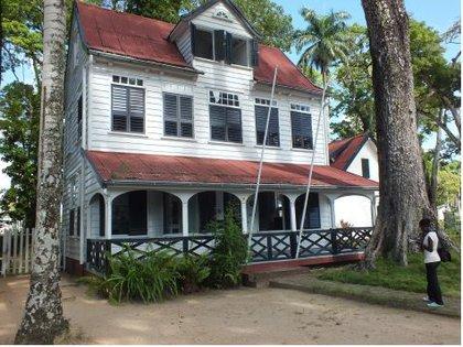 Oficina de la Fundación del Patrimonio Edificado de Surinam