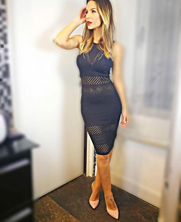 La bella Tamara Gorro se desempeña como presentadora de TV en España. Foto: Instagram.
