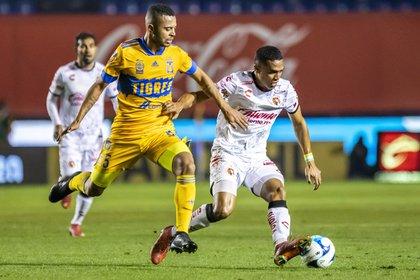 Nicolás López no ha gozado de suficientes oportunidades con Tigres (Foto: Cortesía/ Club Tijuana)
