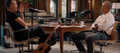 Obama y Springsteen en un podcast