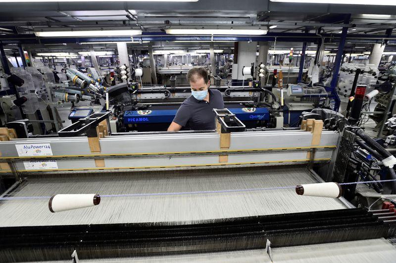 El sector textil es otro de los que sigue por debajo del nivel general con 49,1% de uso de la capacidad instalada