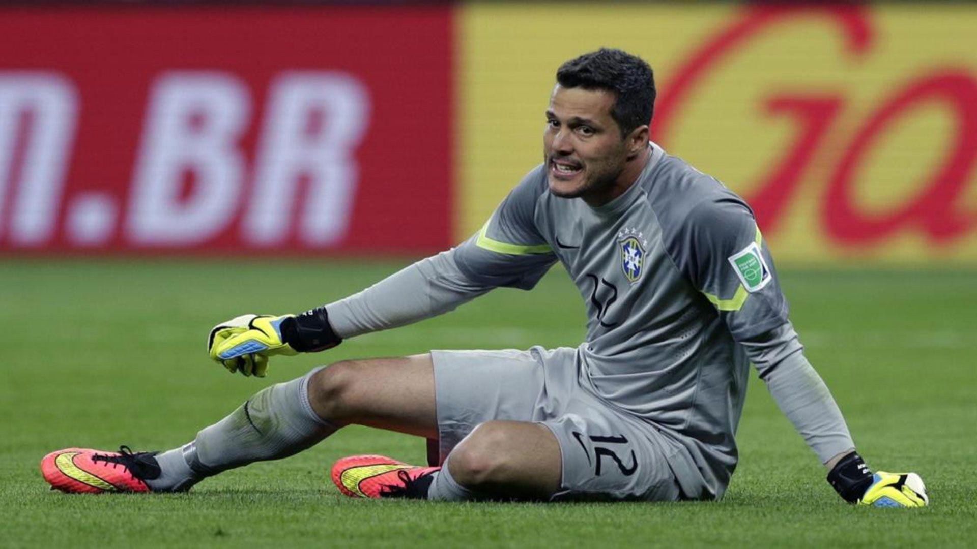 Julio César había triunfado en el Inter y era pieza clave de aquella selección Brasileña
